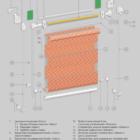 Рулонная штора Смол (вариант Мини). 3D схема конструкции.