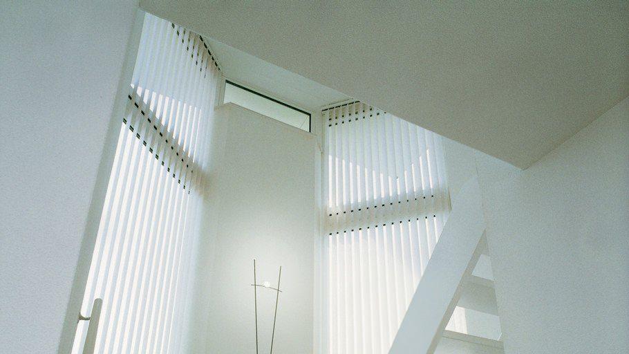 Вертикальные жалюзи в интерьере.