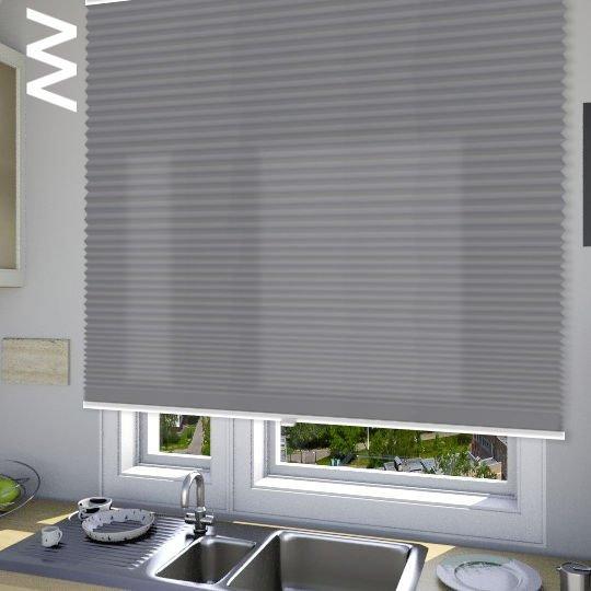 Плиссе Cara 10008. 3D модель общий вид.