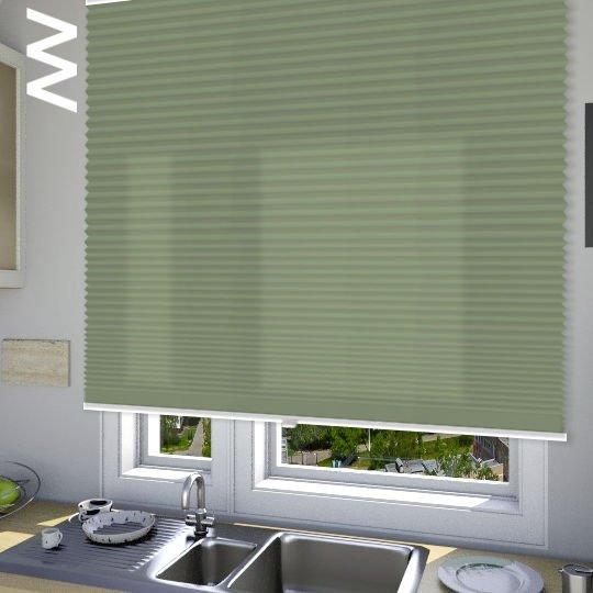 Плиссе Cara В1 10109. 3D модель общий вид.