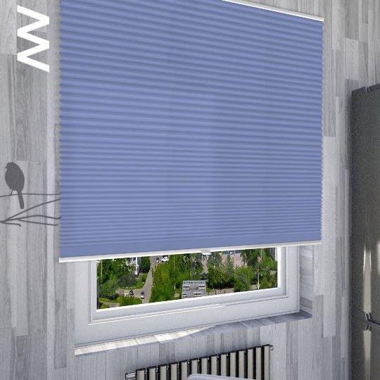Плиссе Palado Perlmutt Color 20232. 3D модель общий вид.