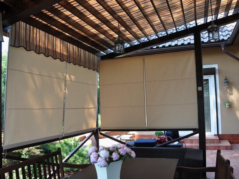 Рулонные шторы из пленки своими руками 68
